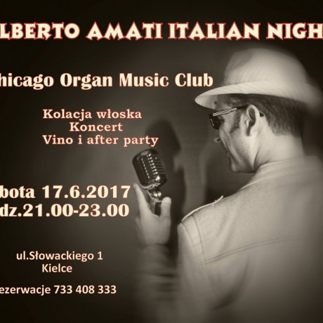 Alberto Amati Italian Night