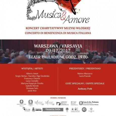 Koncert charytatywny muzyka włoska