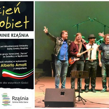 Alberto Amati z zespołem