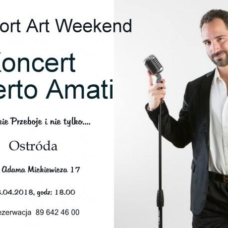 Koncert Alberto Amati