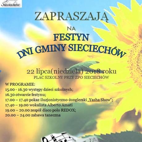 Festyn dni gminy sieciechów
