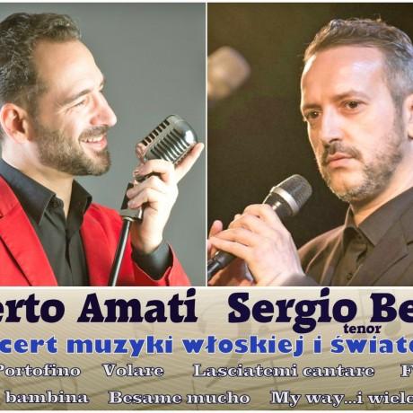 Koncert muzyki włoskiej i światowej